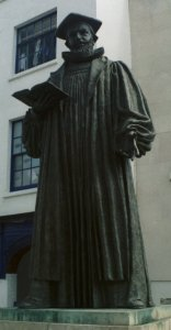 Statue of George Abbot