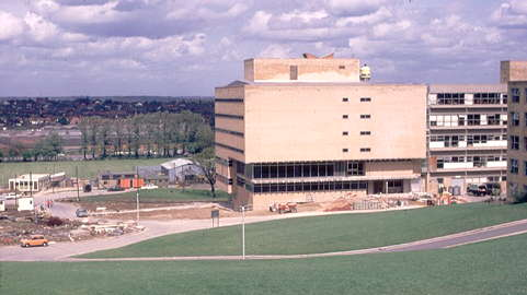 New library 1972.